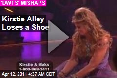 Kirstie Alley Loses a Shoe on 'Dancing With the Stars' (Video)