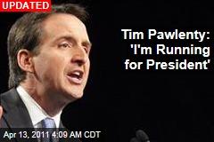 Tim Pawlenty: 'I'm Running for President'