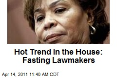 Hot Trend in the House: Fasting Lawmakers
