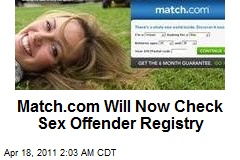 Match.com Will Now Check Members' Sex Assault Arrests
