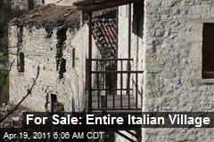 For Sale: Entire Italian Village