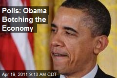 Polls: Obama Botching the Economy