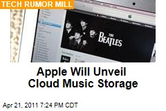 Apple Ready to Launch Cloud Music Storage for iTunes: Reuters Report