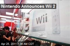 Nintendo Announces Wii 2