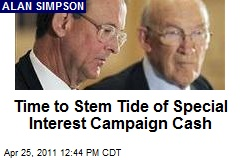 Time to Stem Tide of Special Interest Campaign Cash
