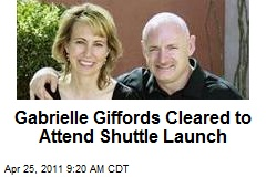 Gabrielle Giffords Cleared to Attend Shuttle Launch
