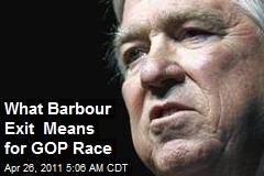 What Barbour Exit Means for GOP Race