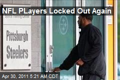 NFL PLayers Locked Out Again