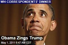 White House Correspondents' Dinner: Obama Bashes Donald Trump