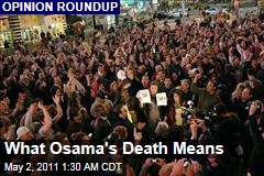 What Osama bin Laden's Death Means
