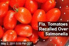 Grape Tomato Recall: Florida Grower Discovers Salmonella