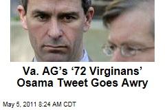 Virginia Attorney General Ken Cuccinelli Tweets Virginian Joke About Osama bin Laden, Confuses Everyone