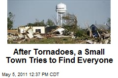 After Tornadoes, a Small Town Tries to Find Everyone