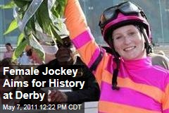 Rosie Napravnik Hopes to Become First Woman to Win Kentucky Derby Today Aboard Pants on Fire