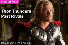 Thor Thunders Past Rivals