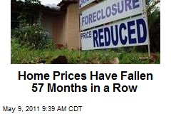 Home Prices Have Fallen 57 Months in a Row