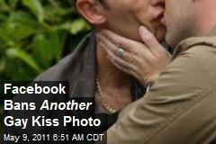 Facebook Bans Another Gay Kiss Photo