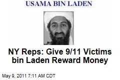 Osama bin Laden Reward Money Should Go to 9/11 Victims, Say Reps. Anthony Weiner and Jerry Nadler