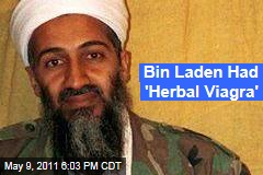 Osama bin Laden: 'Herbal Viagra' Pulled From Abbottabad Compound