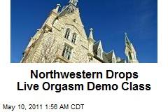 Northwestern Drops Sex Demo Class