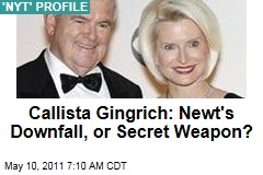 Callista Gingrich: Newt's Downfall, or Secret Weapon in 2012 Race?