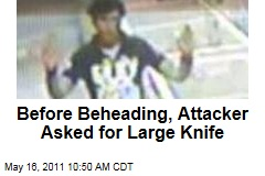 Before Tenerife Beheading, Deyan Valentinov Deyanov Asked Store Owner for a Large Knife