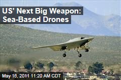 US Navy Unmanned Drones to Counter China's Military Rise