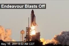 Endeavour Blasts Off