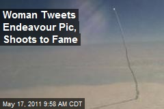 Woman Tweets Endeavour Pic, Shoots to Fame