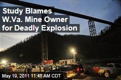 Investigation Blames Massey Energy in Coal Mine Explosion That Killed 29