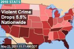 2010 FBI Crime Data: Violent Crime Drops 5% Nationwide