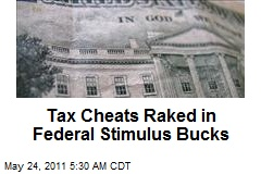Tax Cheats Raked in Fed Stimulus Bucks