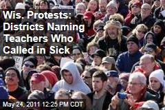 Wisconsin Protests: Districts Naming Teachers Who Called in Sick