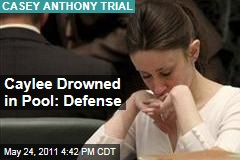 Casey Anthony Trial: Caylee Drowned in Pool, Says Defense