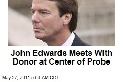 John Edwards Meets With Campaign Donor Bunny Mellon