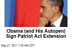 Congress Passes Patriot Act Extension; Obama Signs From France