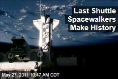 Endeavour: Last Shuttle Spacewalkers Make History