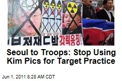 South Korea to Troops: Stop Using Kim Jong Il Photos for Target Practice