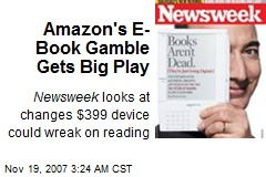 Amazon's E-Book Gamble Gets Big Play