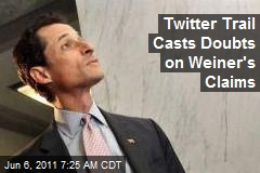 Twitter Trail Casts Doubts on Weiner's Claims