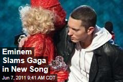 LISTEN: Eminem Slams Lady Gaga as Hermaphrodite in New Bad Meets Evil Song 'A Kiss'
