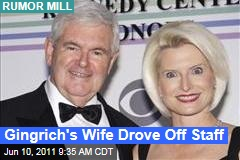 Newt Gingrich's Wife Callista Drove Off 2012 Staff: Rumor Mill