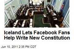 Iceland Lets Facebook Fans Help Write New Constitution
