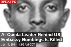 Somalia Says It Killed al-Qaeda's Fazul Abdullah Mohammed, Who Planned US Embassy Bombings