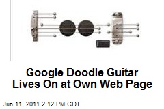 Google Doodle Guitar Lives On at Own Web Page