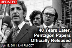 40 Years Later, Pentagon Papers Officially Released