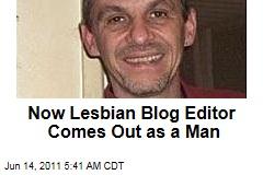 Lez Get Real Editor 'Paula Brooks' Is a Man