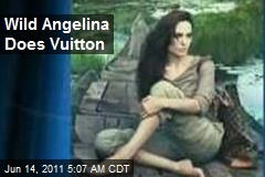 Wild Angelina Does Vuitton