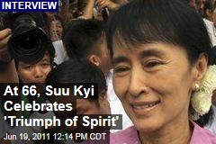 Aung San Suu Kyi Celebrates 66th Birthday, Gives Clandestine Interview