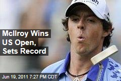 Rory McIlroy Wins US Open, Sets Record